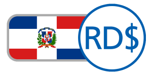 Red white blue boxes cross dios patria buy dominican republic pesos online
