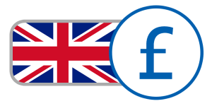 red blue white stripe union jack currency flag buy english england pounds online