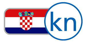 buy currency online flag croatia kuna kn checkered red white blue