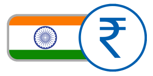 buy currency online flag india rupee circle green yellow orange