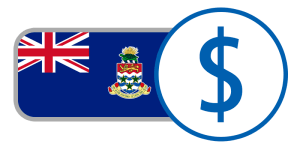 buy currency online flag cayman islands dollar union jack blue crest