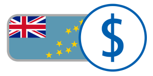 buy currency online flag tuvalu dollar union jack $ stars blue