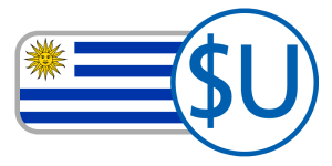 buy currency online flag uruguay peso $U blue white yellow sun
