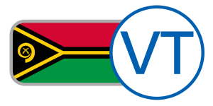 buy currency online flag vanuatu vatu red green yellow black